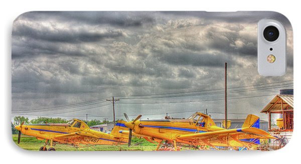 Crop Duster 003 IPhone Case by Barry Jones
