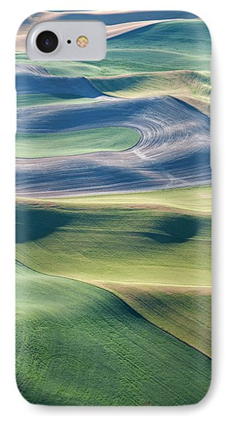 Crops And Contours IPhone Case by Doug Davidson