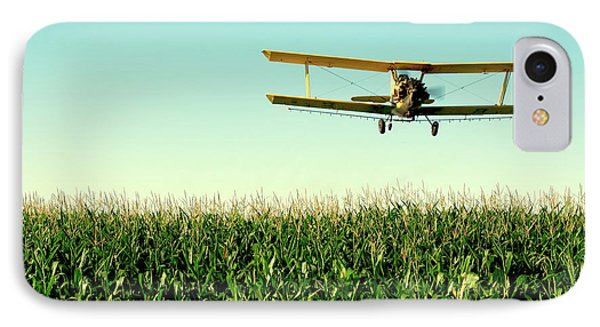 Crops Dusted IPhone Case by Todd Klassy