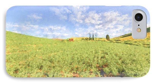 Crops II IPhone Case by Jon Glaser