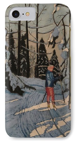 Cross Country Skiing In Upstate Ny IPhone Case