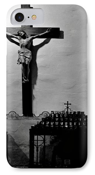 IPhone Case featuring the photograph Cross Mission San Diego De Alcala by Christine Till