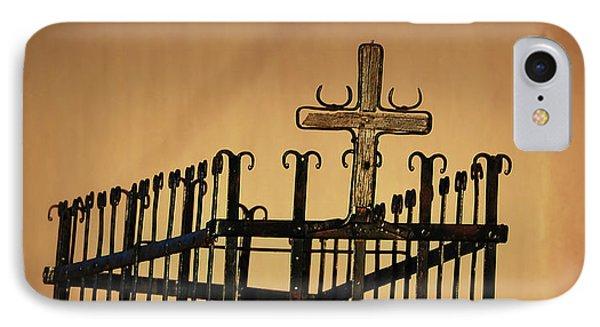 Cross Of San Jose De Gracia IPhone Case
