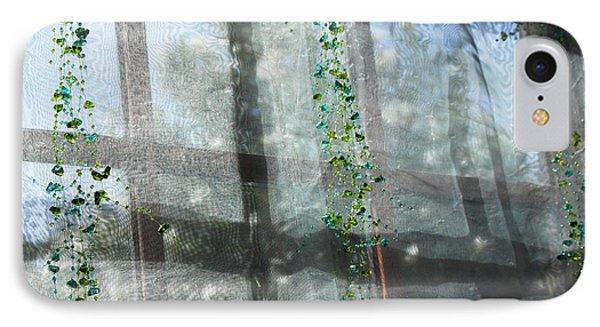 Crosses In The Window IPhone Case by Cheryl Del Toro