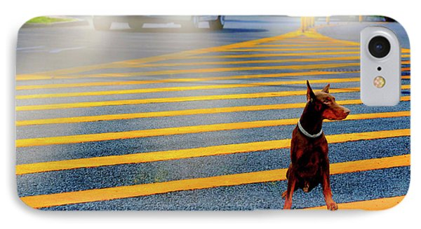 Crossing Guard IPhone Case by Diana Angstadt