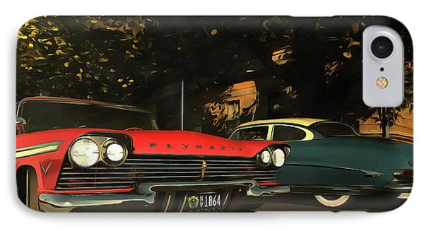 Crossing Oldtimers IPhone Case