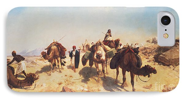 Crossing The Desert Phone Case by Jean Leon Gerome