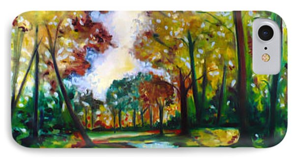 IPhone Case featuring the painting Crossroads by Emery Franklin