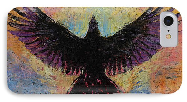 Crow IPhone 7 Case by Michael Creese
