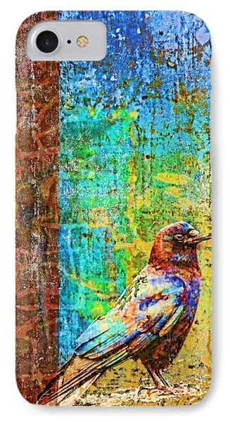 Crow Of Many Colors IPhone Case