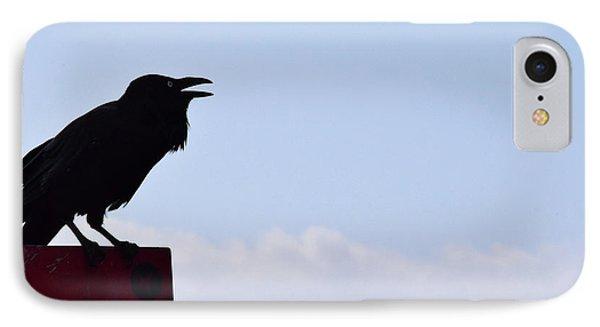 Crow Profile IPhone 7 Case