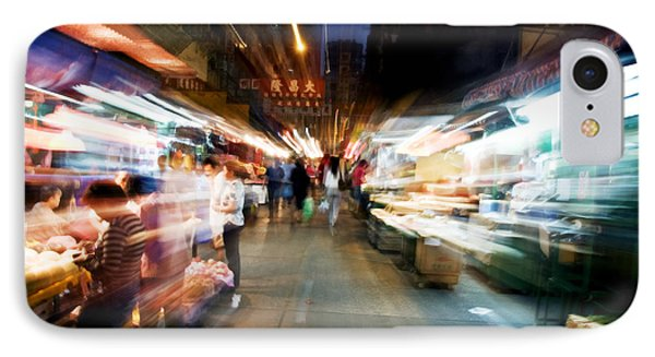 Crowds Moving Through Jordan Phone Case by Ray Laskowitz - Printscapes