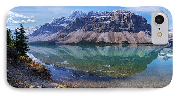 Crowfoot Reflection IPhone Case by Chad Dutson