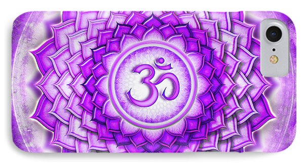 Crown Chakra - Series 5 IPhone Case