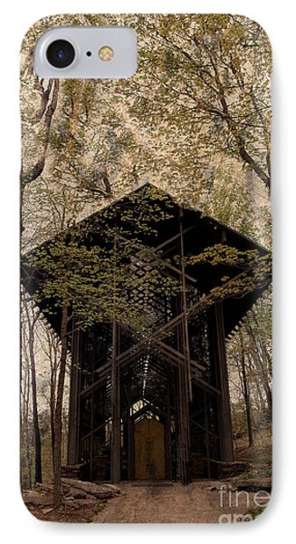 Crown Of Thorns Chapel Phone Case by Kathleen Struckle