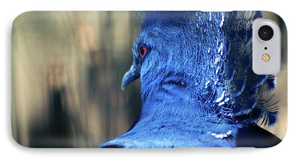 Crowned Pigeon IPhone Case by Terry Cork