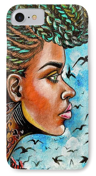 iPhone 7 Case - Crowned Royal by Artist RiA