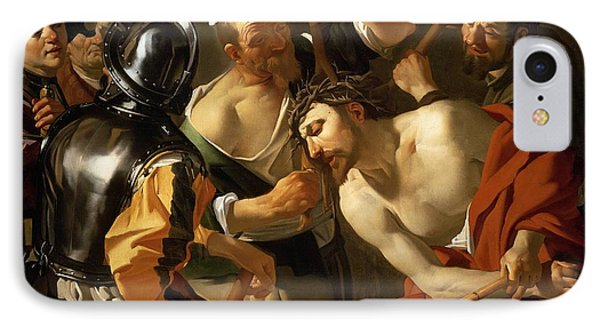 Crowning With Thorns IPhone Case by Dirck van Baburen