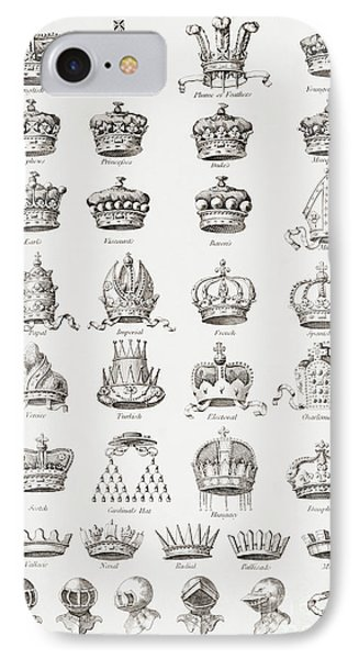 Crowns, Coronets And Helmets IPhone Case