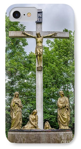 Crucified IPhone Case by Adrian Evans