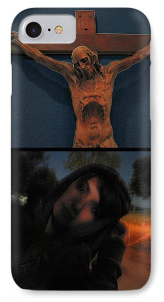 Crucifixion Phone Case by James W Johnson