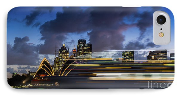 Cruise Ship Sydney Harbour IPhone Case