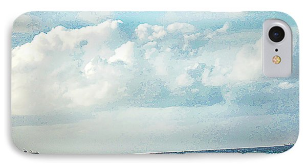 Cruising Along In The Bahamas IPhone Case by Rick Grossman
