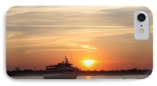 Cruising At Sunset IPhone Case