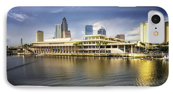 Cruising To Tampa In Hdr IPhone Case by Michael White