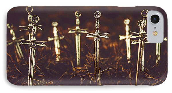 Crusaders Cemetery IPhone Case by Jorgo Photography - Wall Art Gallery