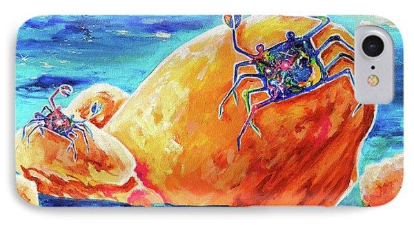 Crustacean Duo  IPhone Case by Marika Segal
