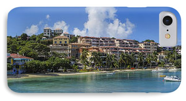 IPhone 7 Case featuring the photograph Cruz Bay, St. John by Adam Romanowicz