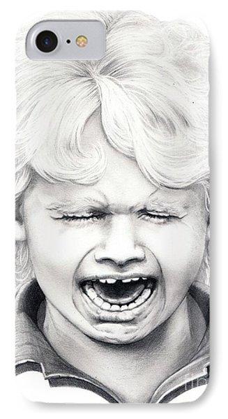 Cry Baby Phone Case by Murphy Elliott