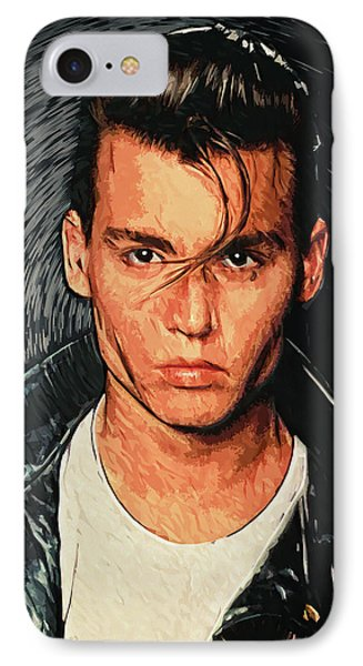 Cry Baby IPhone Case by Taylan Apukovska