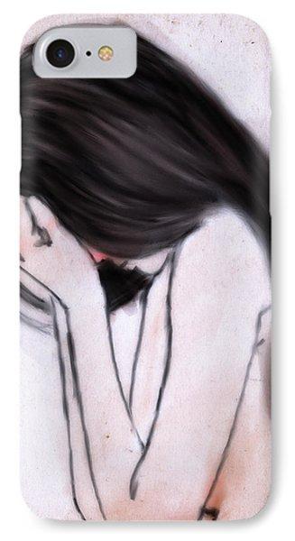Sorrow IPhone Case by H James Hoff