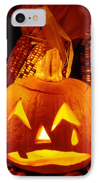 Crying Pumpkin IPhone Case by Garry Gay