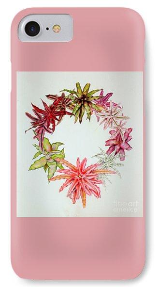 Cryptanthus Wreath IPhone Case