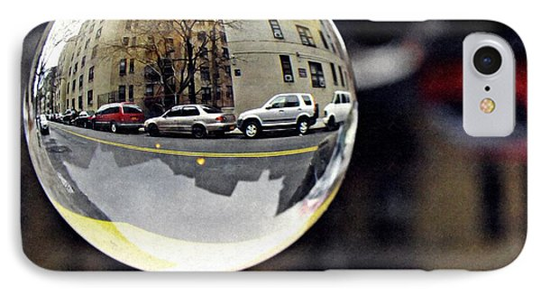 Crystal Ball Project 89 Phone Case by Sarah Loft