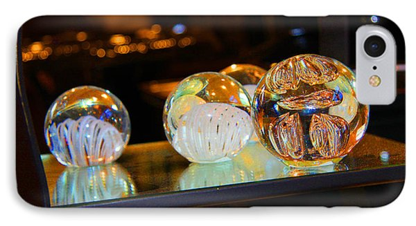 Crystal Balls IPhone Case by Diana Haronis