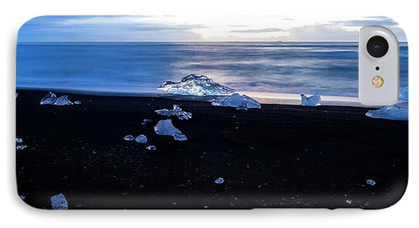 IPhone Case featuring the photograph Crystal Beach Iceland by Brad Scott