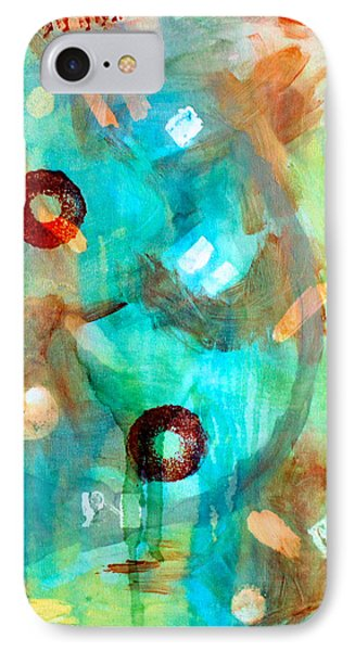 Crystal Blue Persuasion Phone Case by Shelley Graham Turner