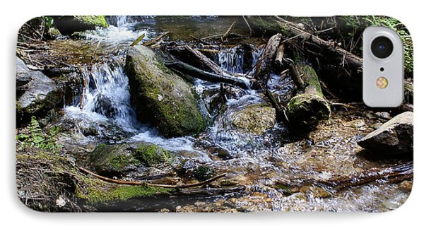 IPhone Case featuring the photograph Crystal Clear Creek by Ben Upham III