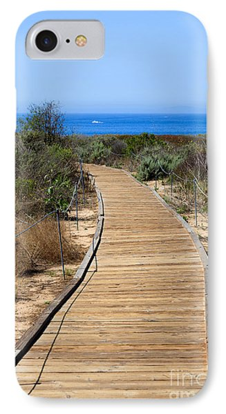 Crystal Cove State Park Wooden Walkway Phone Case by Paul Velgos