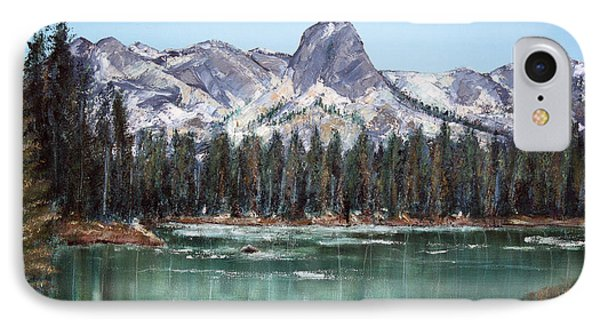 Crystal Crag From Twin Lakes Mammoth Ca Phone Case by Arline Wagner