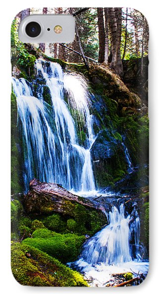 Crystal Fall IPhone Case by Jerry Cahill