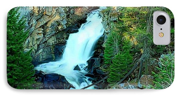 Crystal Falls , Washington IPhone Case