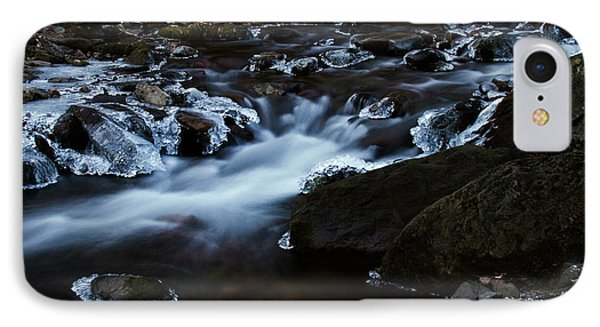 Crystal Flows In Hdr Phone Case by Joseph Noonan