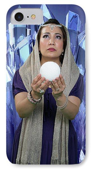 Crystal Goddess IPhone Case by David Clanton