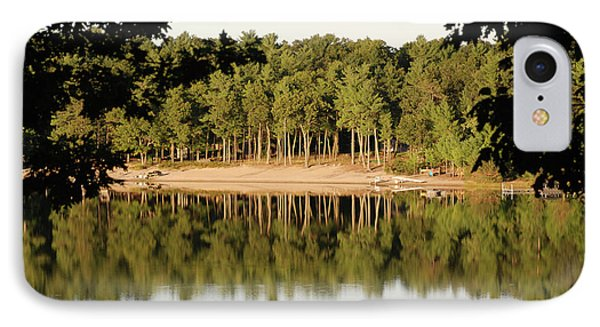 IPhone Case featuring the photograph Crystal Lake In Whitehall Mi by Ferrel Cordle