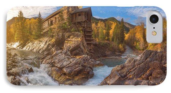 Crystal Mill Fall Sunrise IPhone Case